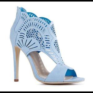 Baby Blue Just Fab Stilettos